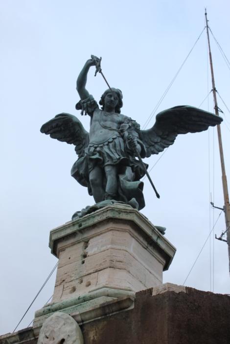 Saint Michel sur le Castel Sant'Angelo
