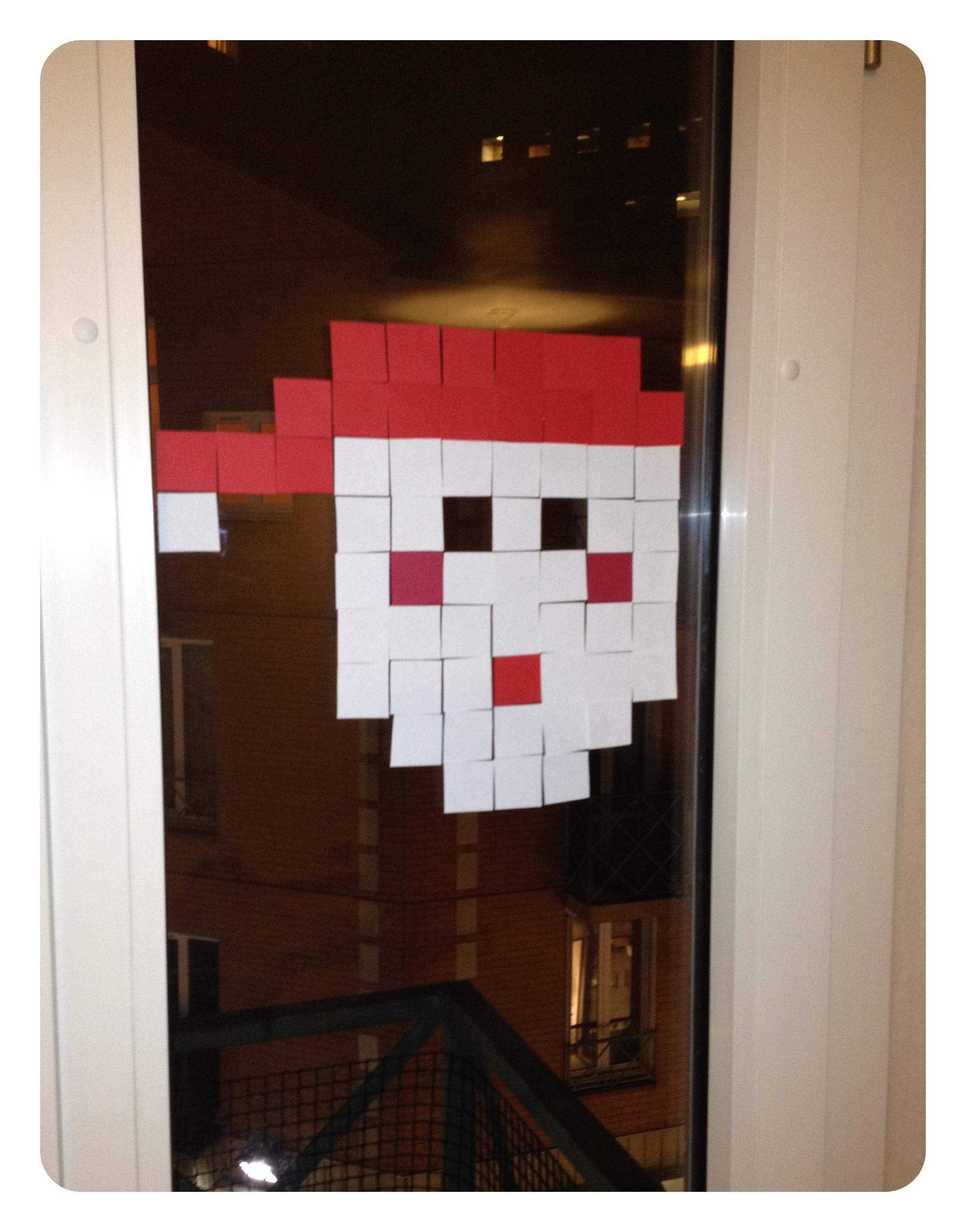#892D24 DIY : Post It War De Noël 6423 décoration noel fenetre fabriquer 2212x2822 px @ aertt.com