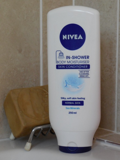 Nivea in shower moisturiser