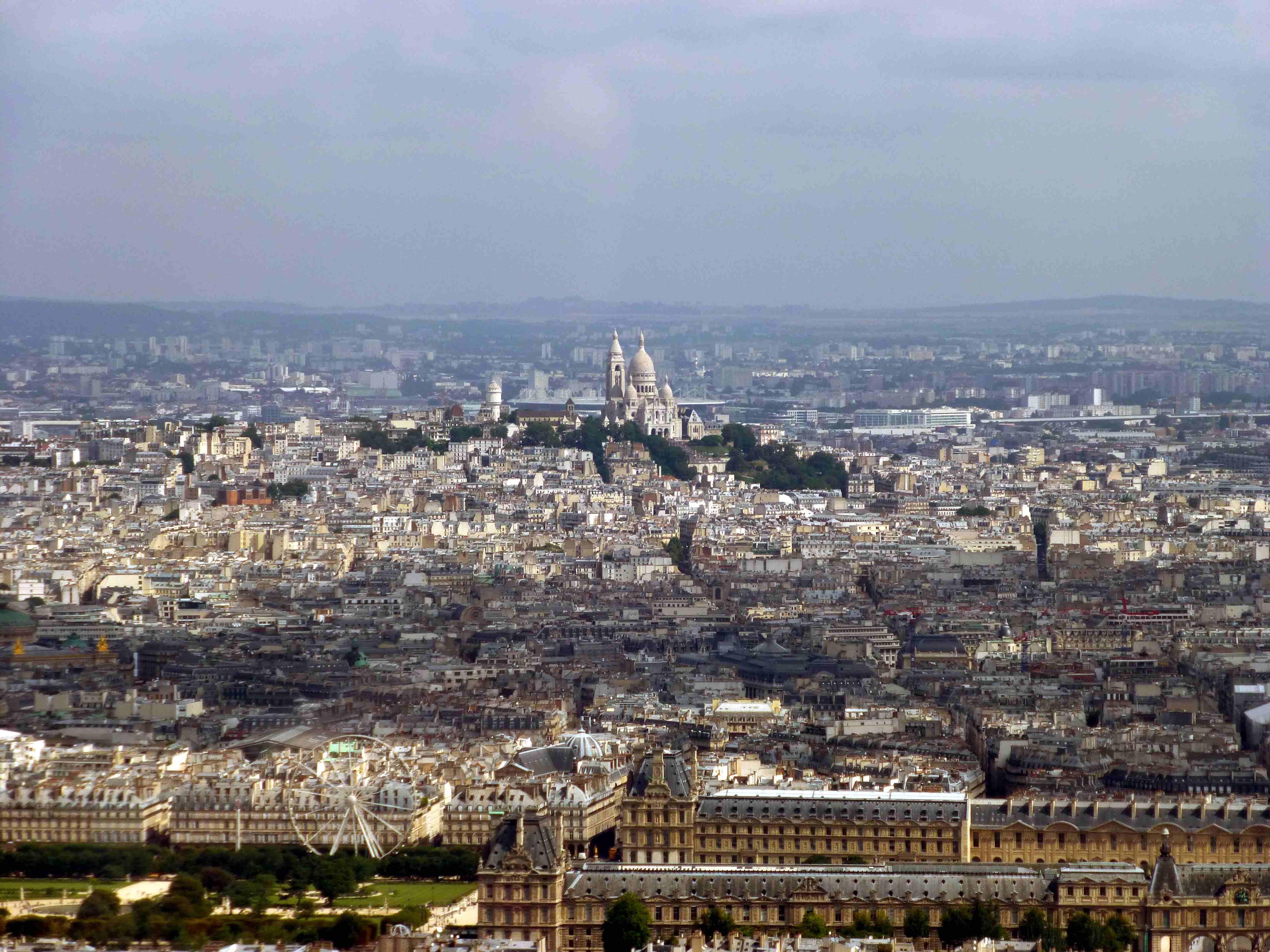 Ciel de paris en haut de la tour montparnasse - Ciel de paris montparnasse ...