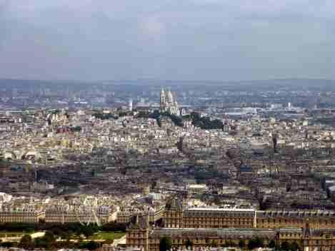 montparnasse, paris, tour, ciel, vue, tourisme