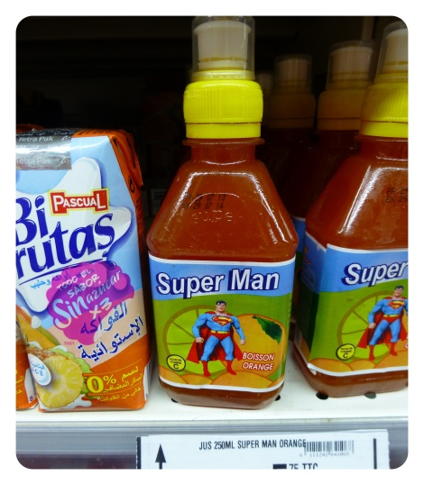 marrakech, supermarché, superman