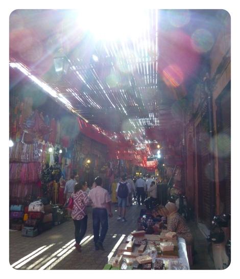 marrakech, maroc, souks, shopping