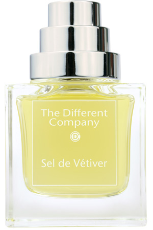 parfum, fragrance, the different company, sel de vetiver