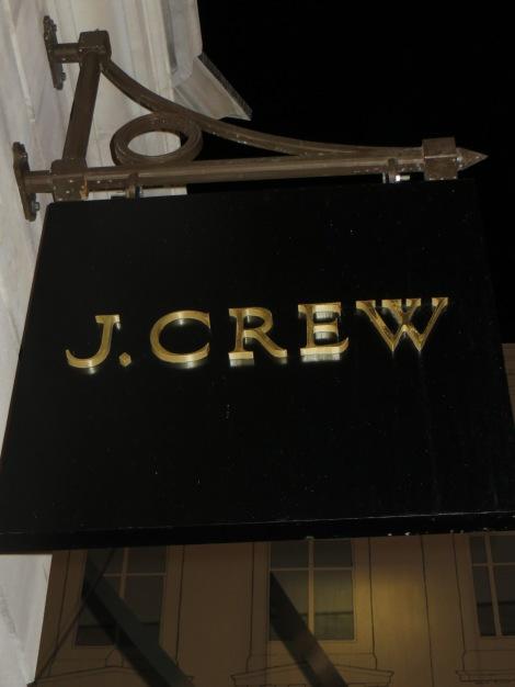J.Crew, London