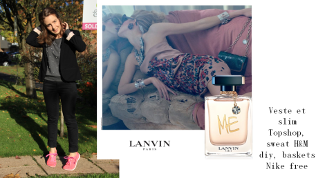 Look parf Lanvin me