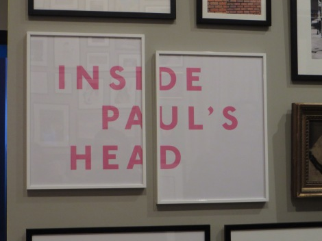 Inside Paul's head