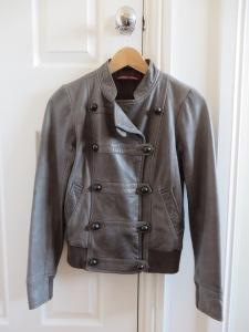 veste cuire Comptoir cotonniers