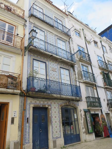 Lisbonne façade
