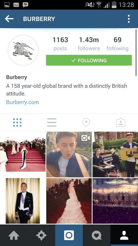 instagram, burberry, london