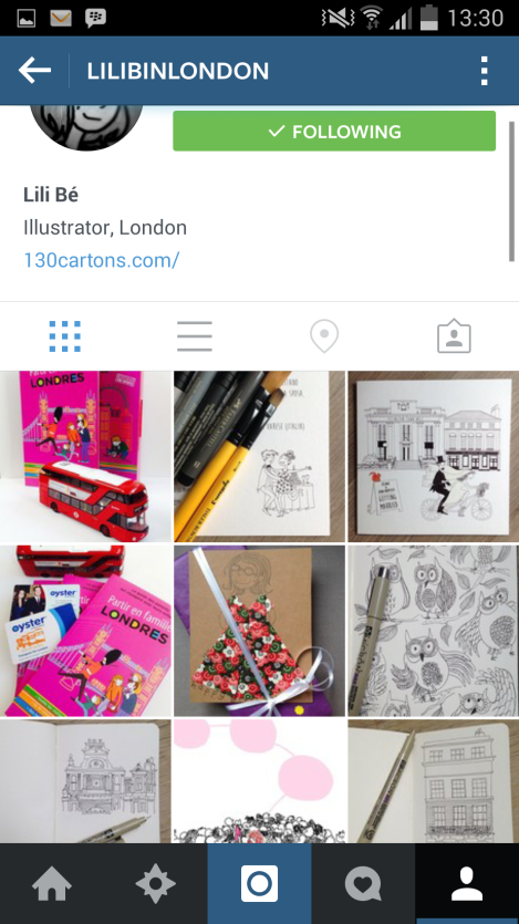 instagram, london, lili bé