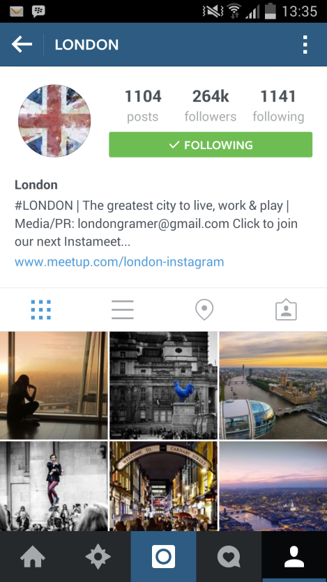 instagram, london