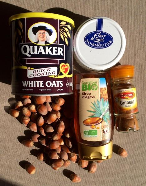 granola muesli recette