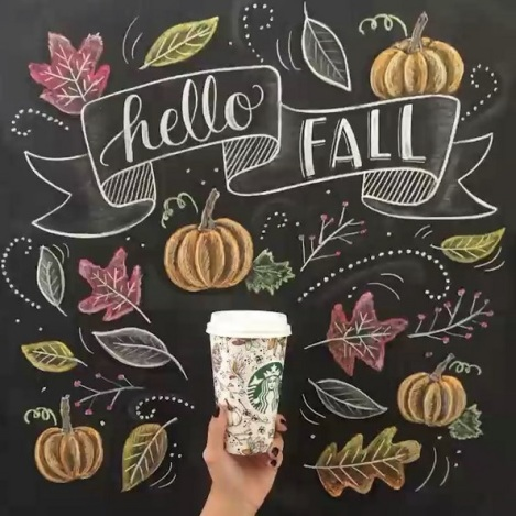 Fall starbucks