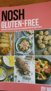 Nosh, cook book, gluten free